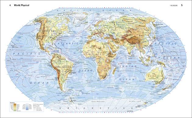 Perthes World Atlas - Klettmaps.com WORLD ATLAS