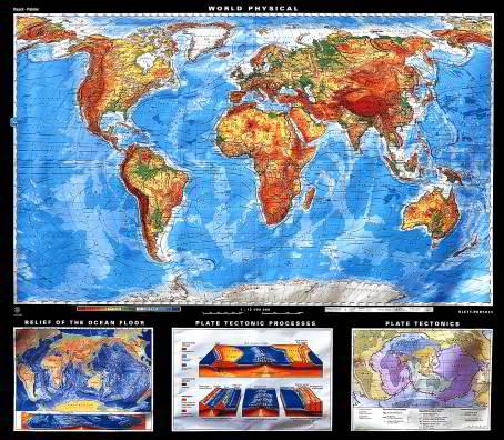 Giant and Supergiant Maps World Klettmapscom