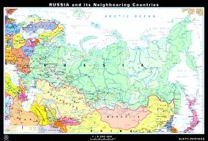 Russia and its neighbouring countries, political
