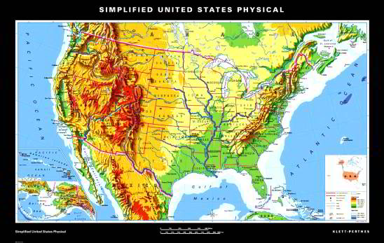 Simplified United States Physical