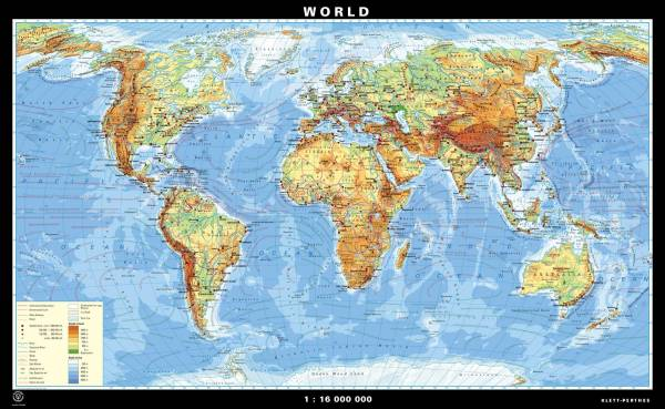 Wall Maps for US and Canada - Klettmaps.com