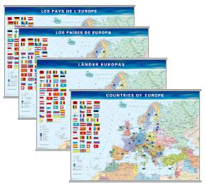 Posters of Europe - in various languages